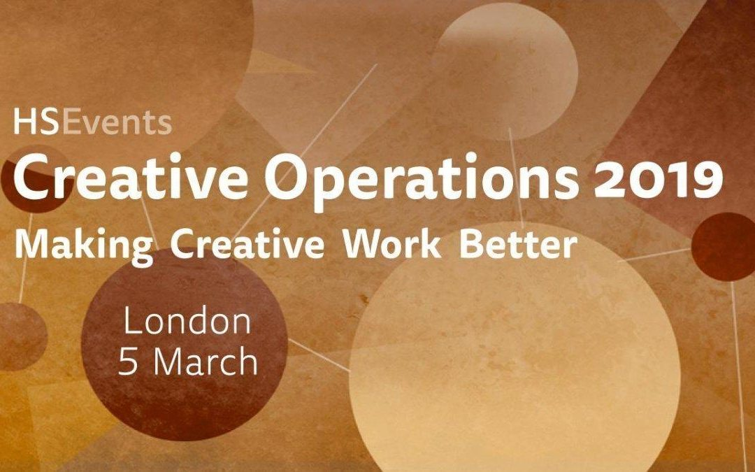 Creative Operations London 2019 now !