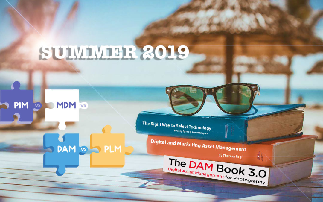 Summer 2019, books and content