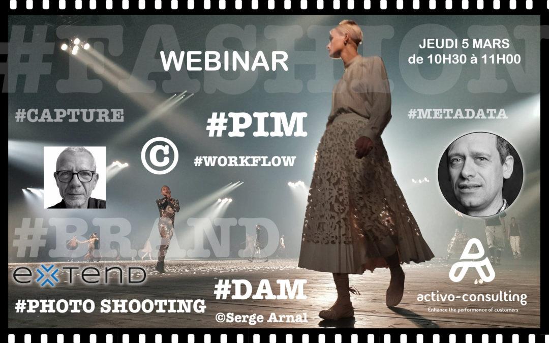 Webinar : Le PIM agrégateur de valeurs dans la Mode ?