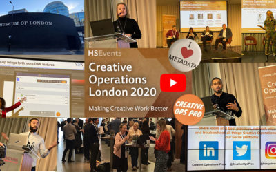 Creative Operations London 2020 – Creativity Matters alongside DAM