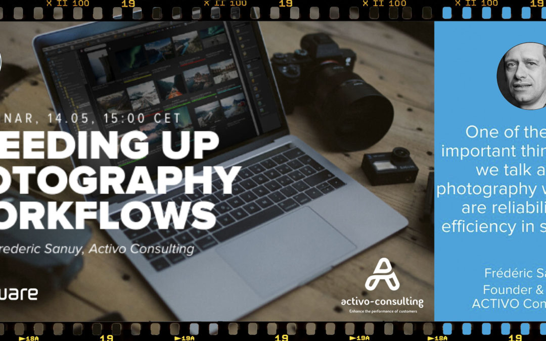 Speeding Up Photography Workflows