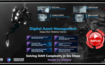 Replay 1 – Digital Asset Management Deep Dive Webinar Series