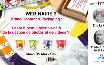 WEBINAIRE : Brand Content & Packaging : Le DAM peut-il aller au-delà de la simple gestion de photos et de vidéos ?