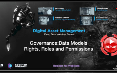 Webinar 4 – Governance: Data Models, Rights, Roles and Permissions