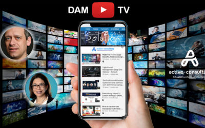 DAM TV – Learn, Practice, Share, Trends alongside the customer journey