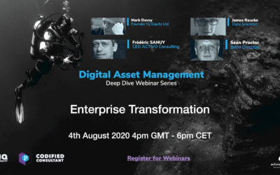 Webinar 6 – Enterprise Transformation
