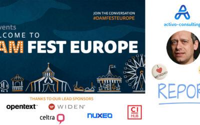 DAM FEST EUROPE 2020 Recap