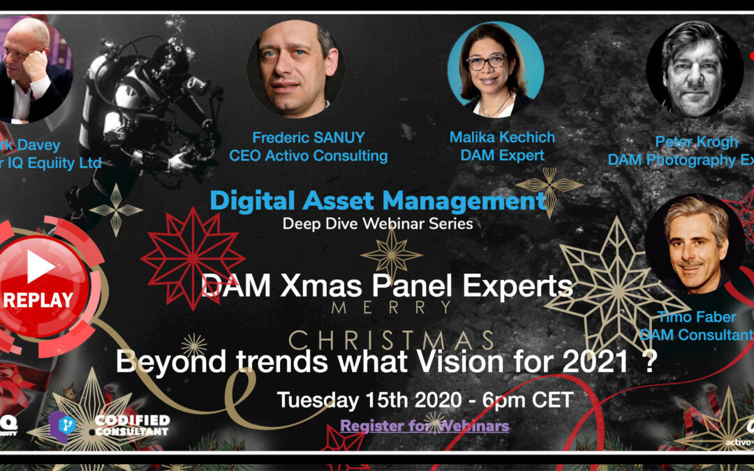 Webinar Replay – DAM Christmas Panel – 2021 and beyond